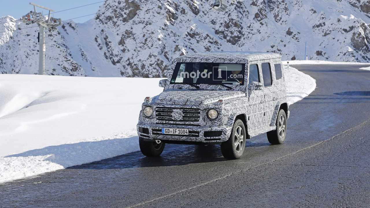 2018 Mercedes G-Class spy photo