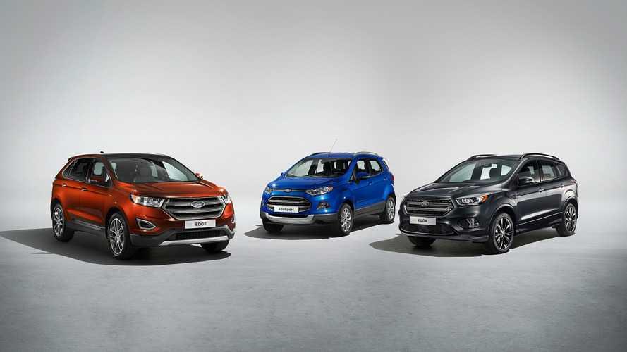Ford - Un futur SUV électrique à venir d'ici 2020