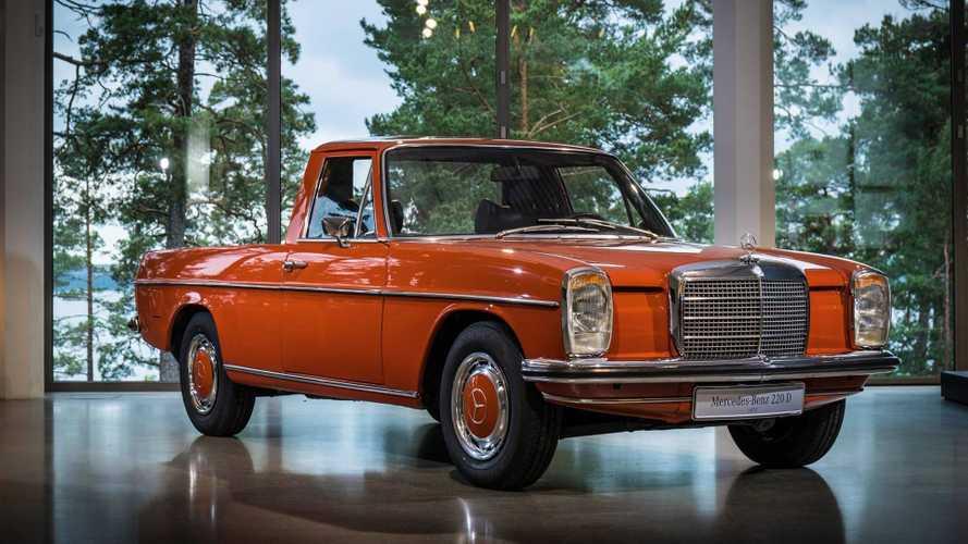 Mercedes'in ilk pickup modeli X Sınıfı değilmiş