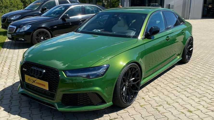 Valaki szedán változatot készített az Audi RS6-ból