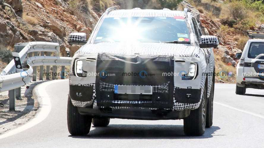2023 Ford Ranger New Spy Photos