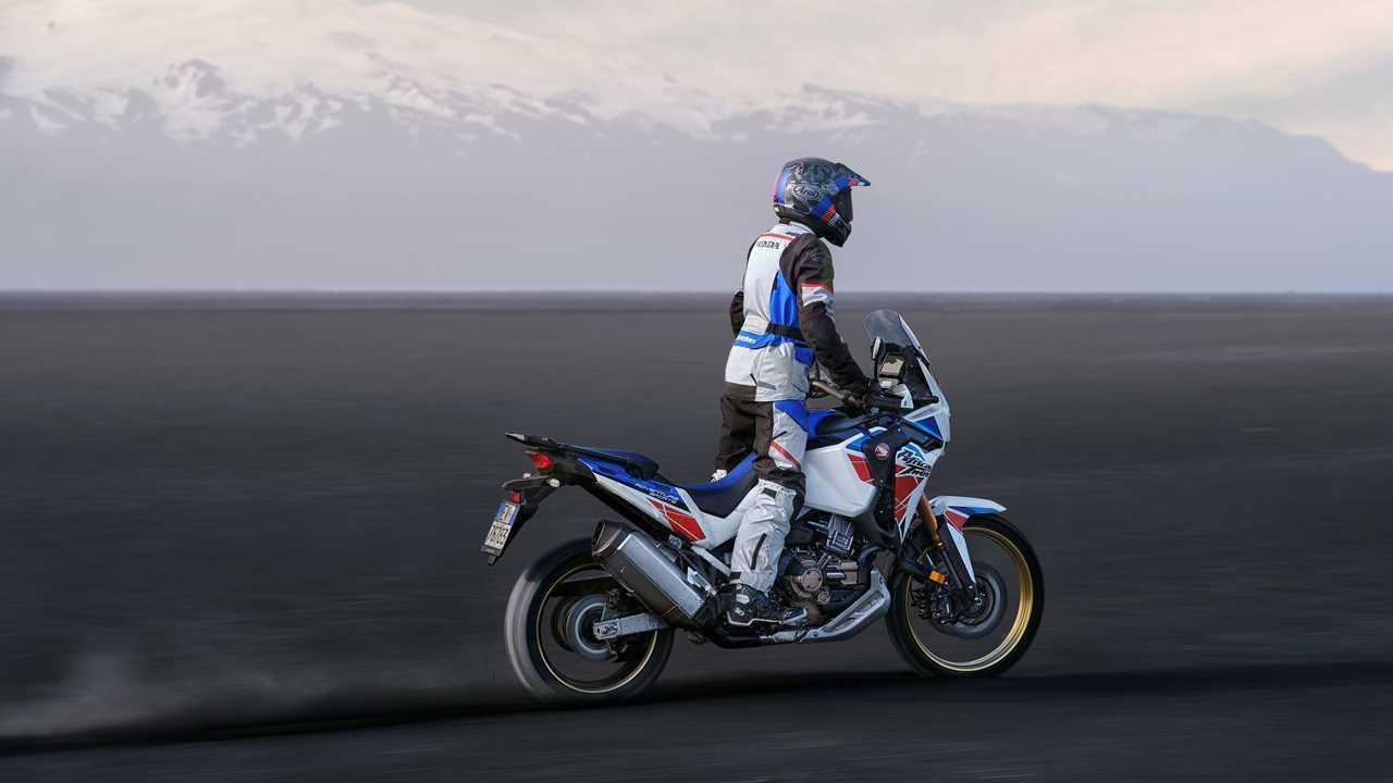 2022 Honda CRF1100L Africa Twin Adventure Sports - Pearl White Blue Red - New Terrain