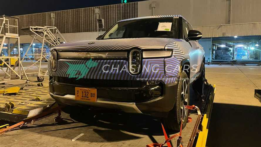 Rivian R1T and R1S Spotted in Australia