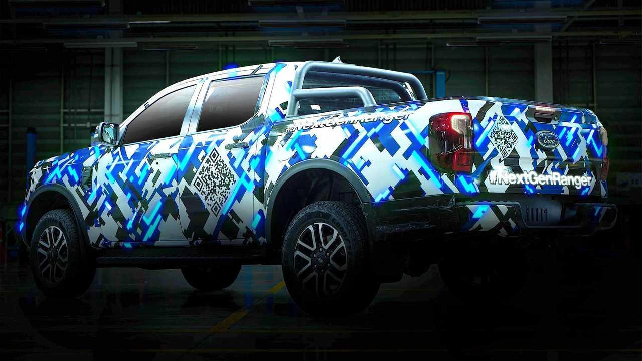 2023 Ford Ranger teaser'ı.