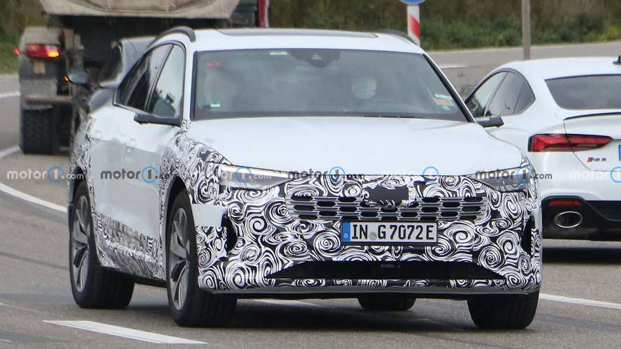 2023 Audi E-Tron Sportback Spy Photos