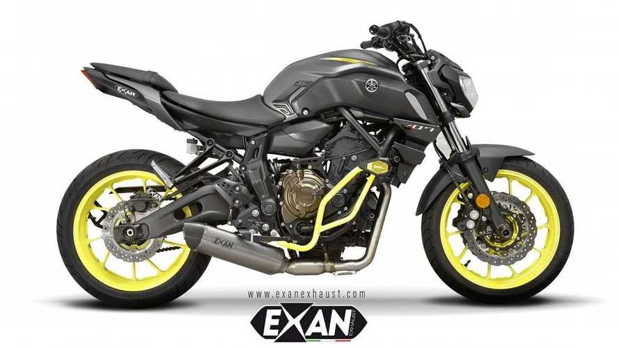 Exan Releases Eight Exhaust Systems For 2017-2020 Yamaha MT-07