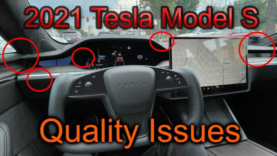 2021 Tesla Model S owner says quality issues not okay on $100K car