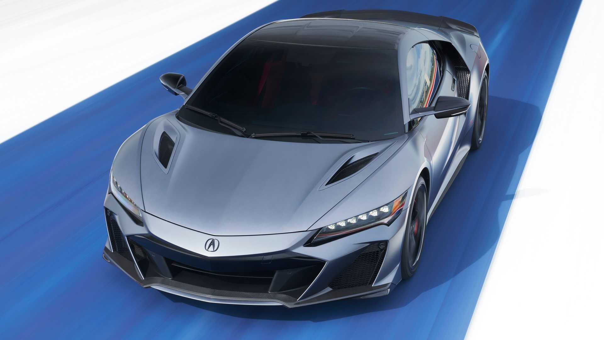 2022 Acura NSX Type S Front Blue Background