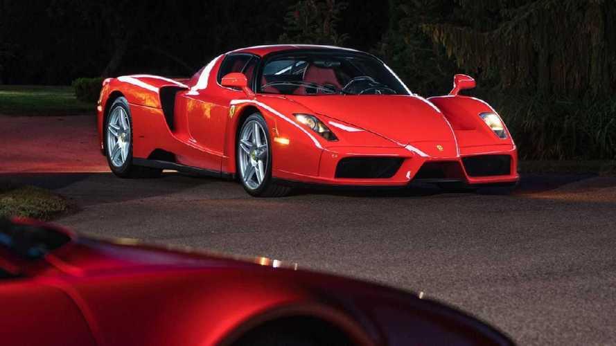 2003 Model Ferrari Enzo dudak uçuklatıcı bir fiyata satıldı