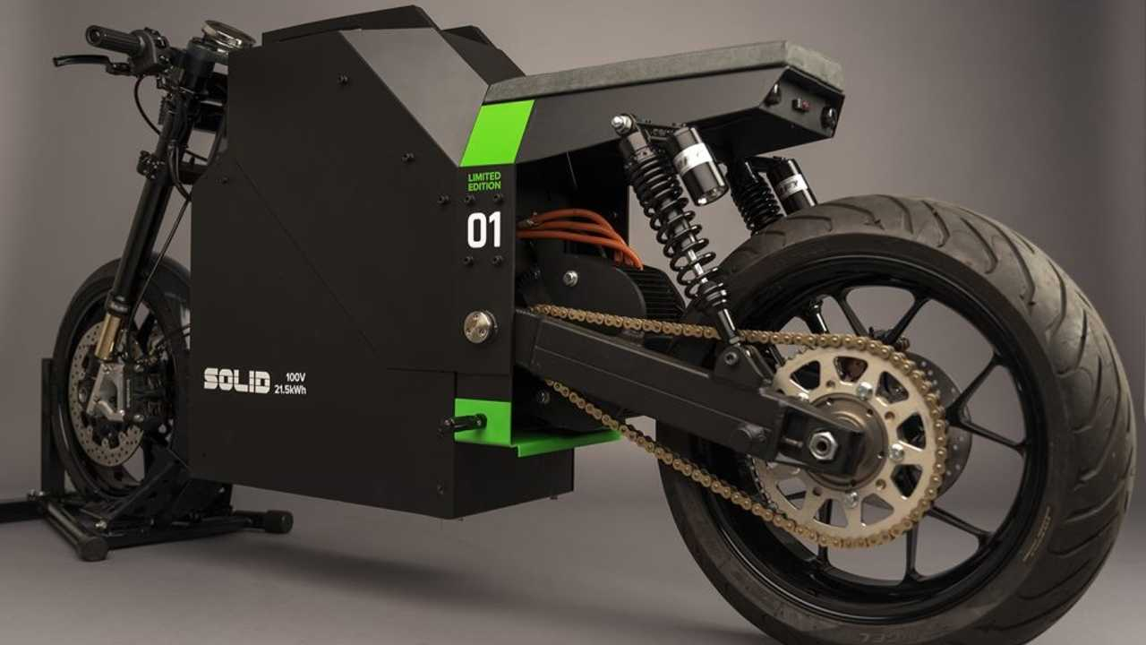 SOLID EV Unveils First Production-Ready CRS-01 Electric Motorcycle