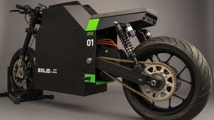 SOLID Unveils First Production-Ready CRS-01 Electric Motorcycle