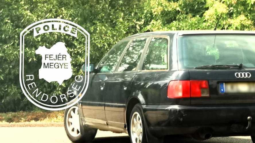 Több éve forgalomból kivont autóval kocsikázott egy nő
