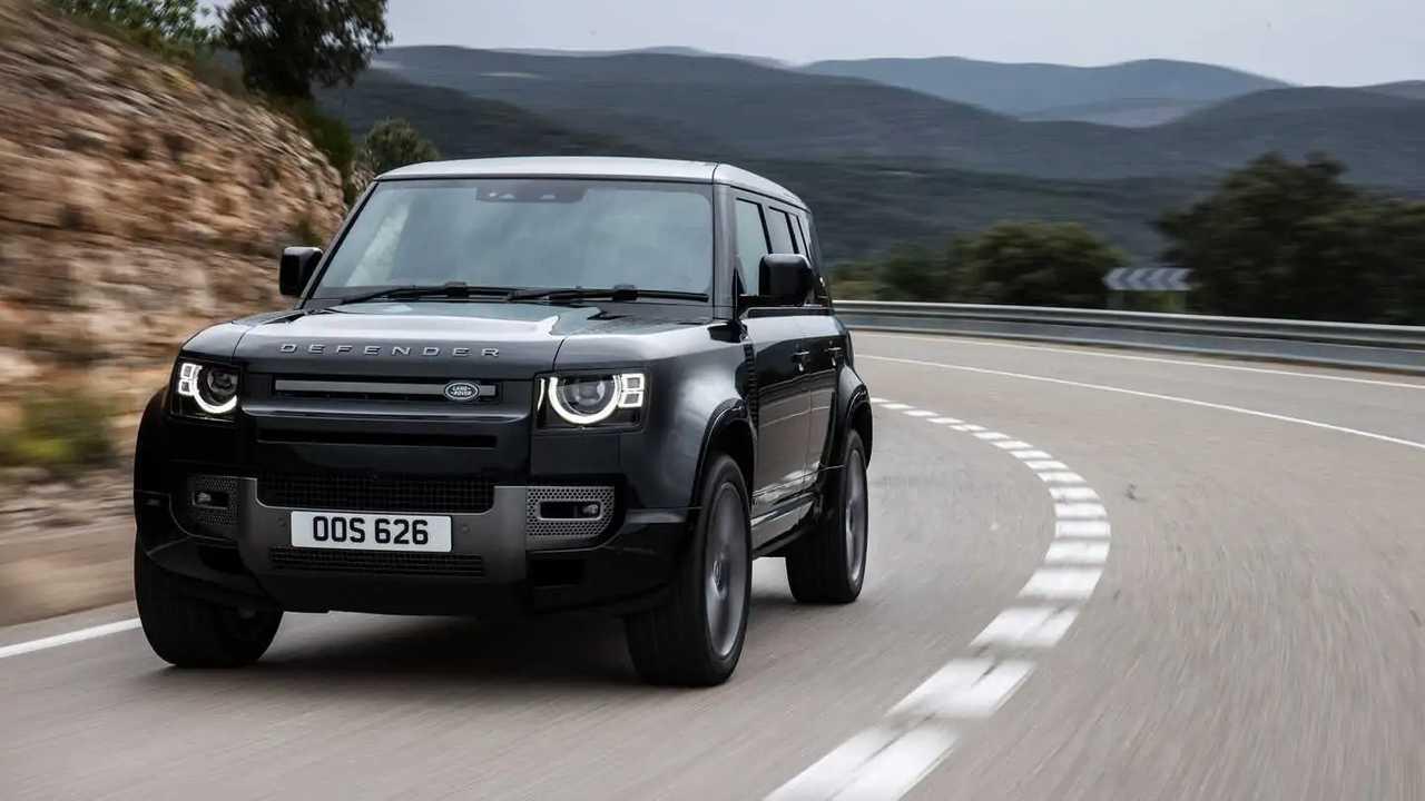 Der Land Rover Defender V8 (2022) mit 525 PS im Test