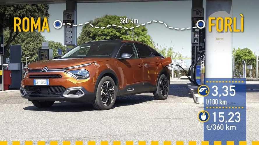 Citroën C4 BlueHDi (2021): prueba de consumo real