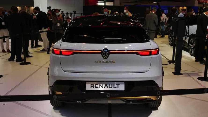 Renault Megane E-Tech en el IAA 2021