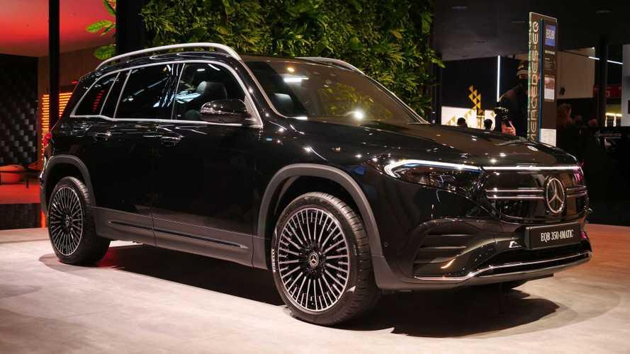 Mercedes EQB chega em 2021 com 7 lugares e 419 km de autonomia