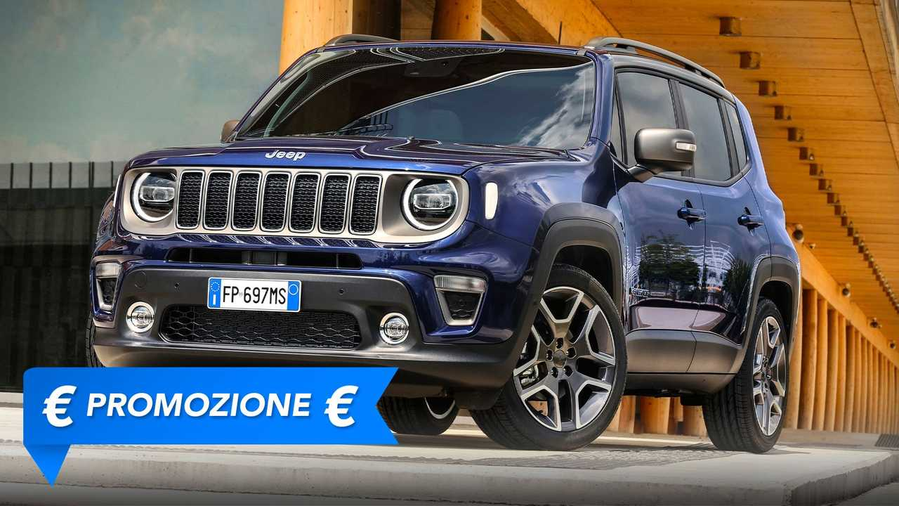 Jeep Renegade, promozione ottobre 2021