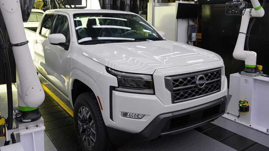 Nova Nissan Frontier para os EUA começa a ser produzida em série