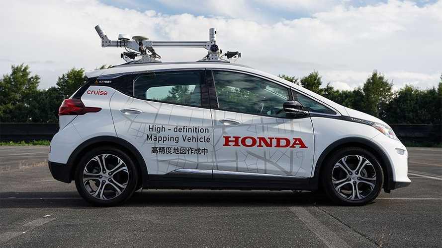 Honda avvia la sperimentazione di auto senza conducente