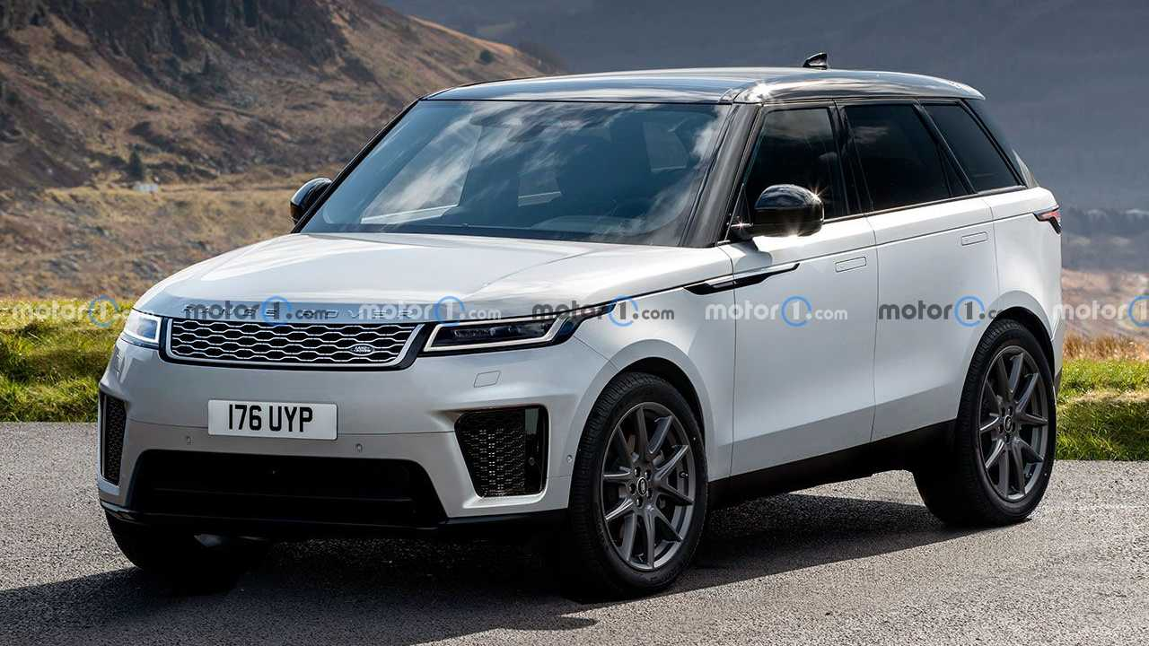 Novo Range Rover Sport 2023 - Projeção