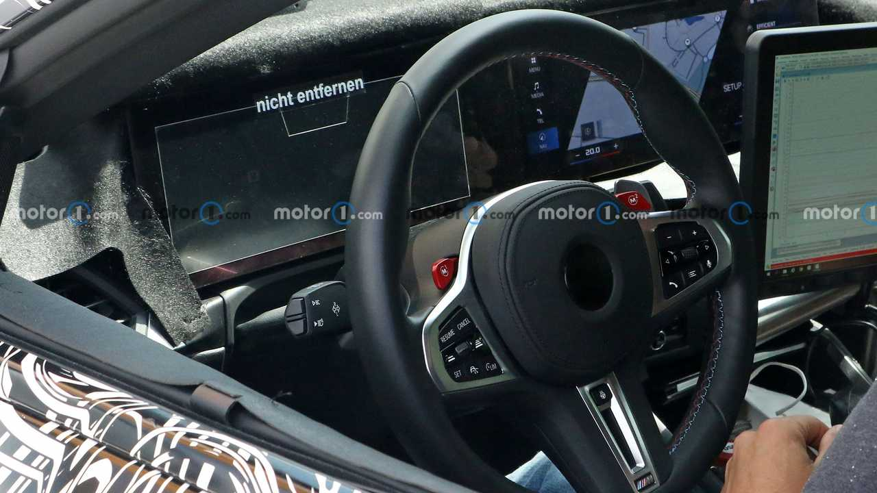 2023 BMW M2 new spy photo (interior)
