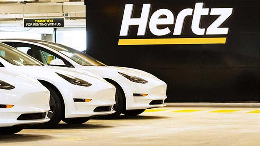 Hertz ordina 100.000 Tesla Model 3 per i noleggi: è record