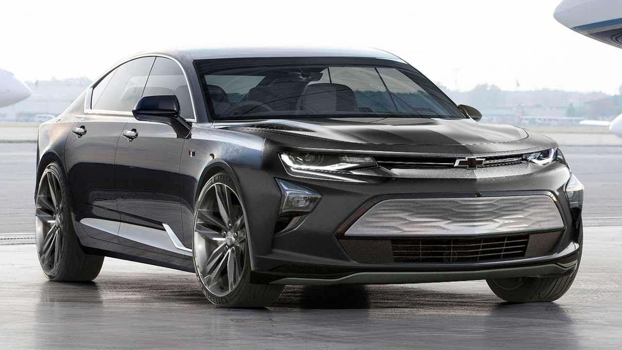 All-Electric Chevy Camaro Unofficial Renderings