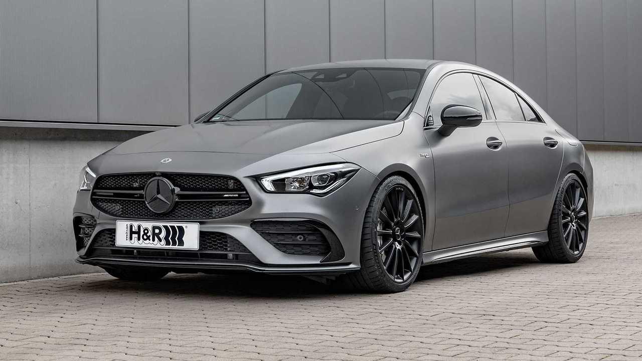 H&R hat Sportfedern für den Mercedes CLA 35 AMG entwickelt