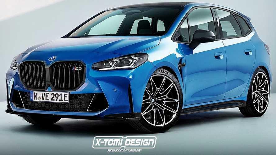 A BMW nem tervez Active Tourer változatot az M2-nek, de ha lenne, ilyesmi lehetne