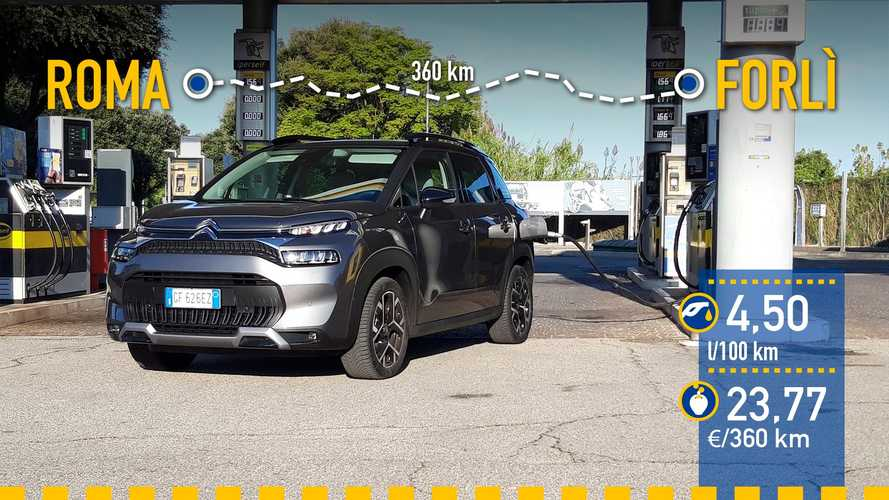 Citroën C3 Aircross 2021: prueba de consumo real