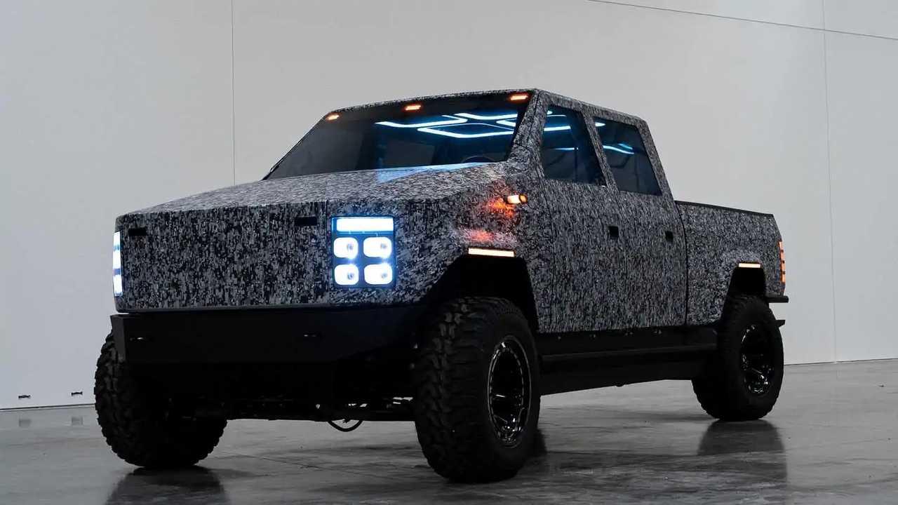 Atlis XT, pick-up elettrico, il prototipo