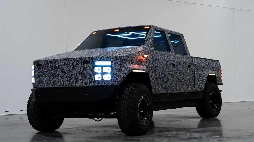 Atlis XT EV Pickup Prototype Shown, Has A Hint Of Cybertruck