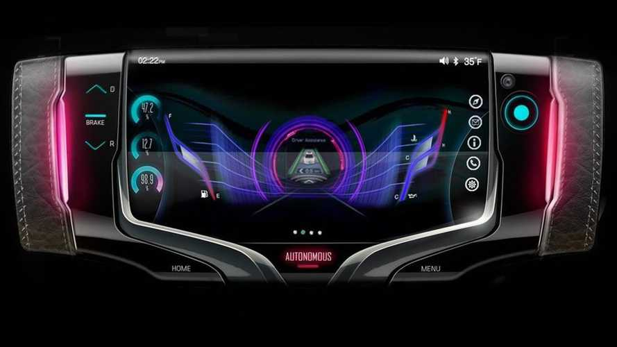 Steering Wheel Concept From GM Looks Like A Hand-Held Video Game
