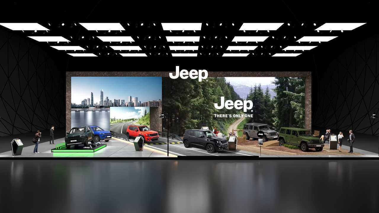 Jeep Autoshow Mobility standı