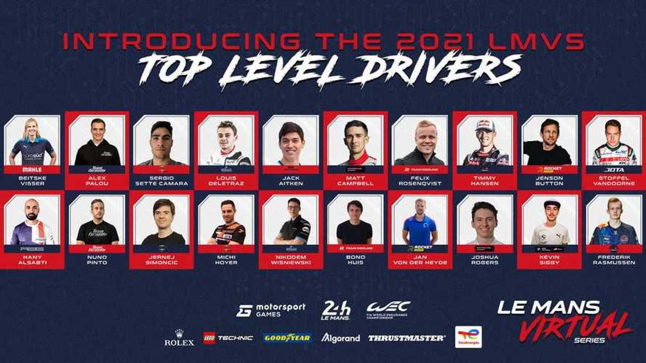 Kontestan seri virtual Le Mans 2021/22.