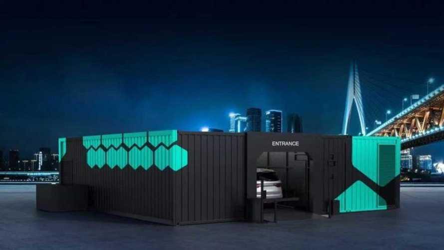 Geely построит 5000 станций для быстрой замены батарей