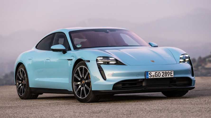 Porsche Taycan Outselling 911 And Panamera In 2021