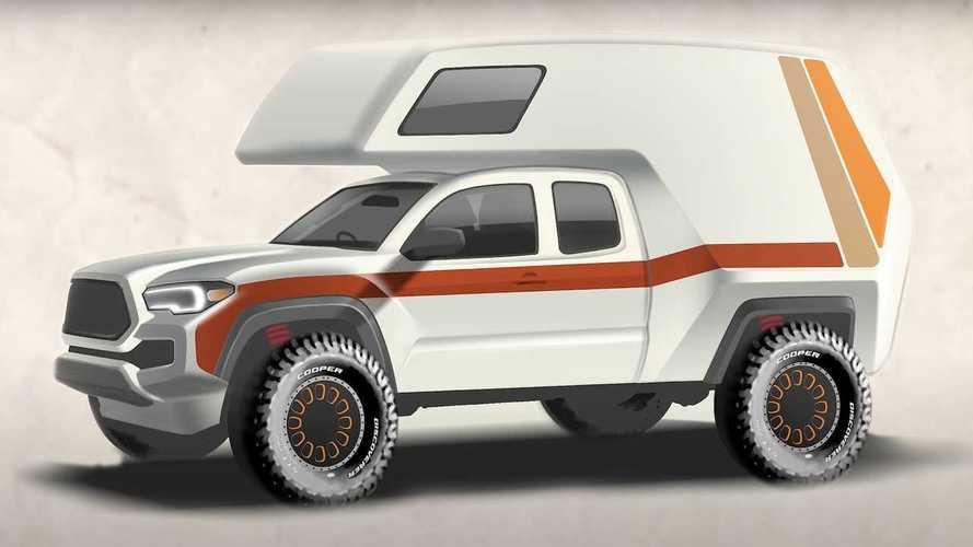 Toyota Announces Chinook-Inspired Tacoma 'Tacozilla' For SEMA