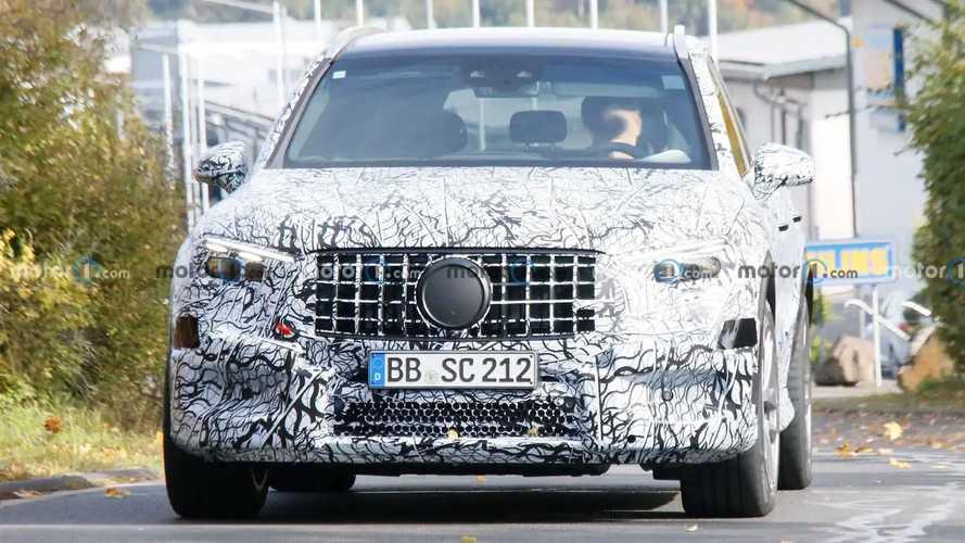 Шпионские фото Mercedes-AMG GLC 63
