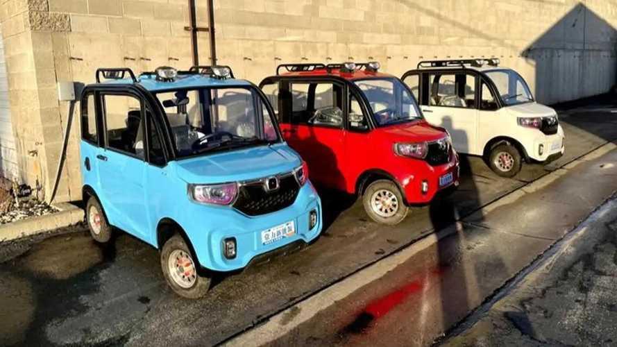 La goffa auto elettrica da 800 € che sta diventando cult negli Usa