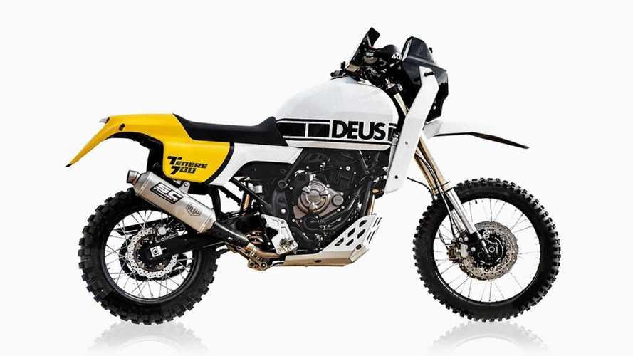 Deus Italia Takes This Yamaha Ténéré 700 Back To The Paris-Dakar