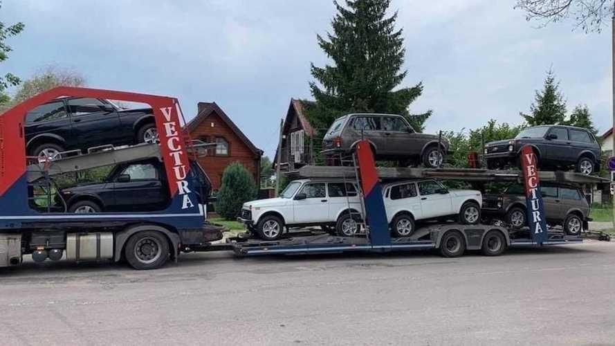В Европе резко вырос спрос на Lada Niva Legend