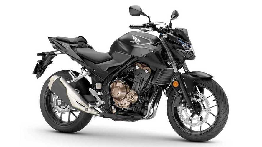 2022 Honda CB500 Lineup Update