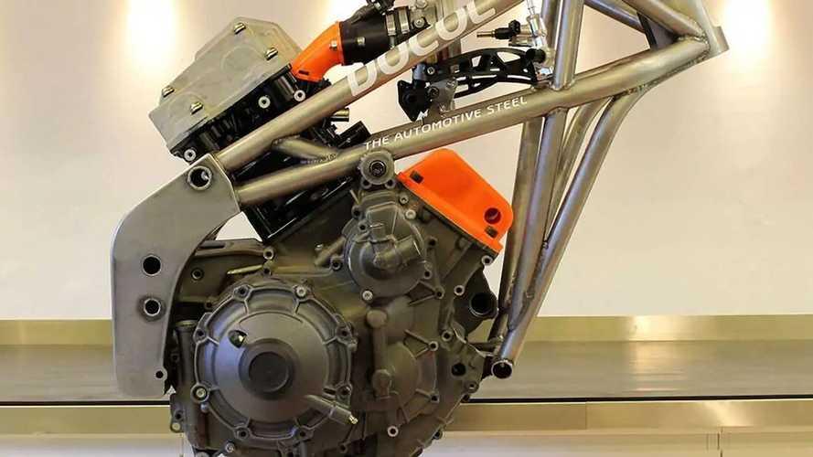 Sweden's NCCR Gives Rotax V2 The Ducati Supermono Treatment