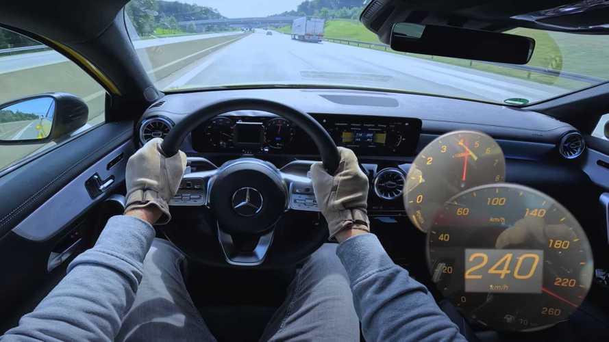 2021 Mercedes A-Class PHEV, Alman Otobanı'nın tozunu atıyor