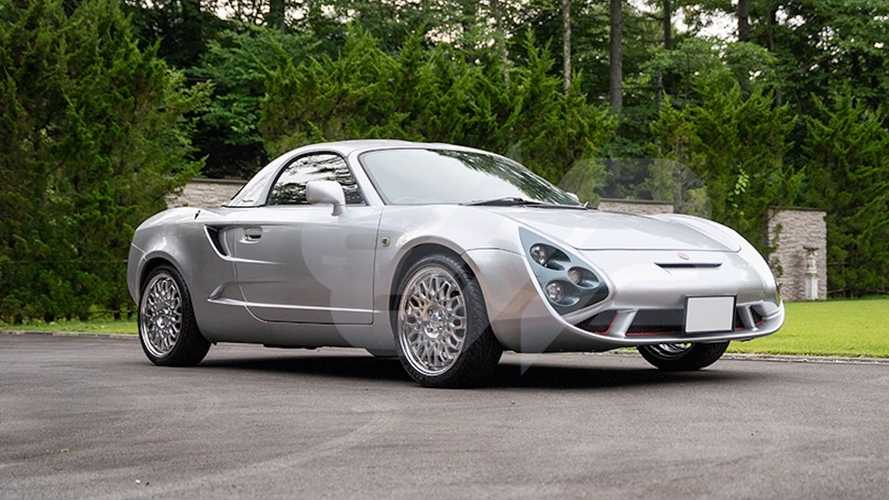 One of 100 Zagato-designed Toyota MR2 up for auction in Japan