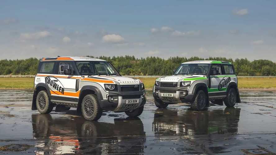 Bowler Land Rover Defender Challenge Rally Car