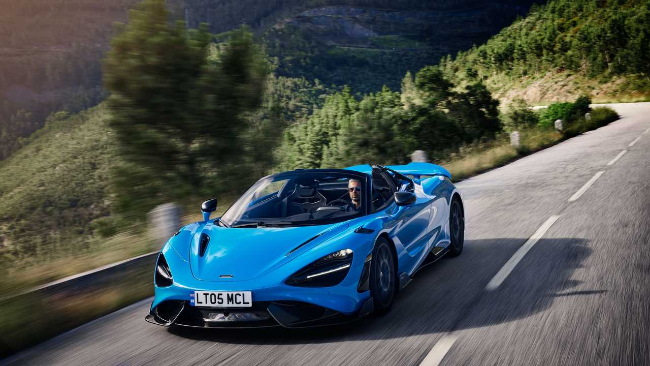 McLaren 765LT Spider 2021