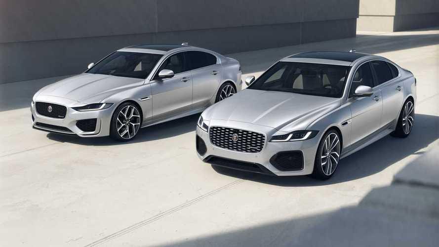 Jaguar XF e XE R-Dynamic Black, aggiornati stile e connettività