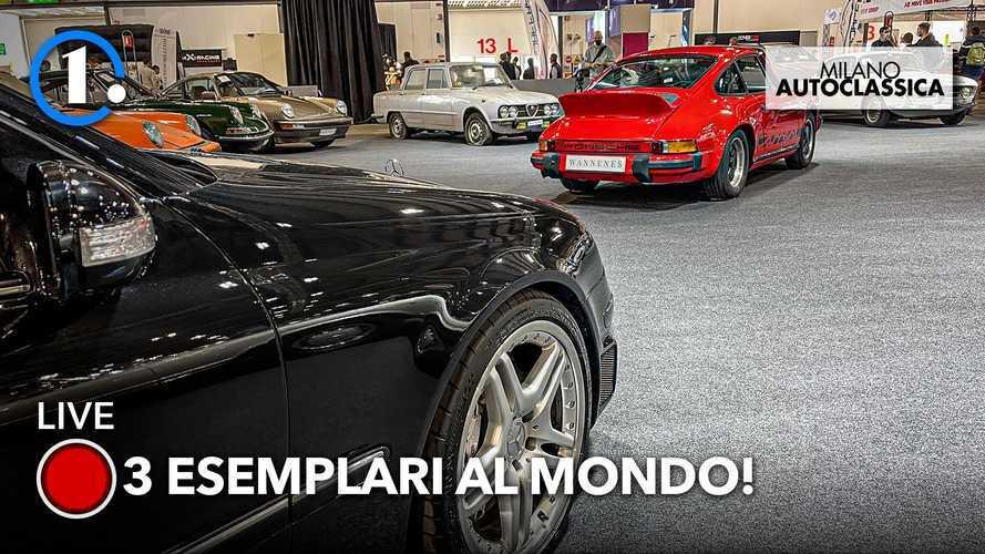 Milano AutoClassica 2021, all'asta auto d'epoca e youngtimer